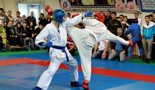 В Ижевске проходят Всероссийские соревнования по рукопашному бою на Кубок ДОСААФ России