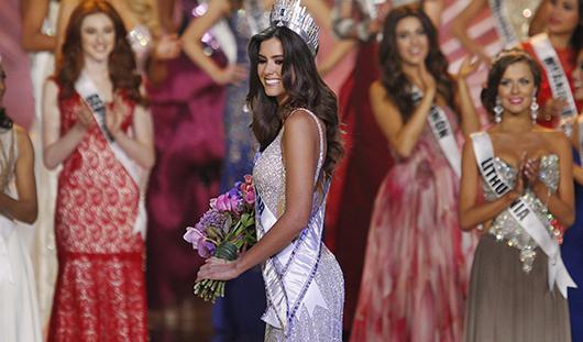 «Мисс Вселенной-2014» стала 22-летняя Паулина Вега из Колумбии