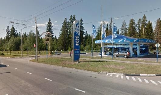 Что строится в Ижевске на улице 10 лет Октября рядом с заправкой «Газпром»?