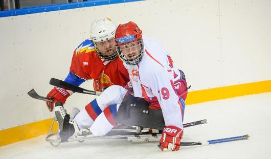Сборная России по следж-хоккею проиграла два матча