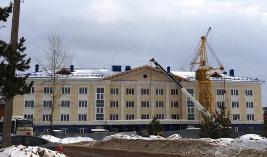 Спальный корпус для кадетов в Воткинске достроят в этом году