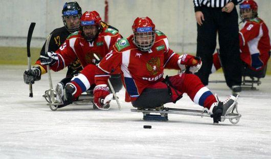 Сборная России по следж-хоккею выиграла в матче против Кореи