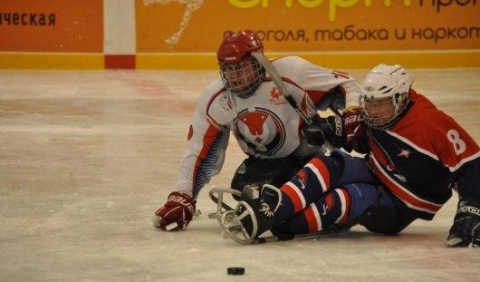Следж-хоккеисты из Удмуртии помогли сборной России выиграть у Канады