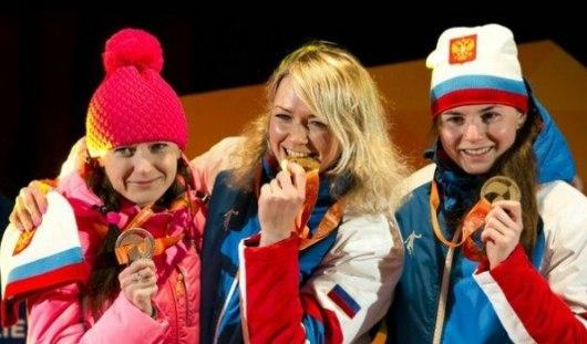 Бронзового призера Универсиады из Удмуртии на лыжи поставила подруга