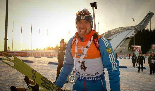 Накануне дня рождения российский биатлонист Евгений Гараничев выиграл «серебро» на этапе Кубка мира