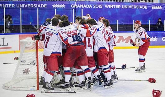 Ижевские хоккеисты выиграли золотые медали в составе национальной сборной на Универсиаде