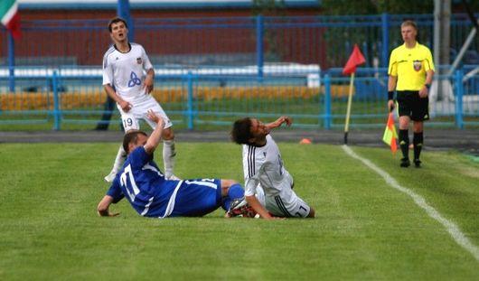 Ижевские футболисты сыграли вничью с нижнекамским «Нефтехимиком»