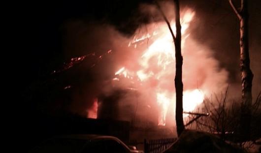 При пожаре в Ижевске погибла пожилая пара