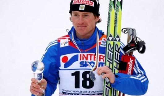 Лыжник из Удмуртии Максим Вылегжанин выиграл «золото» в скиатлоне на Чемпионате Мира