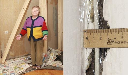 В Ижевске разрушается многоквартирный дом