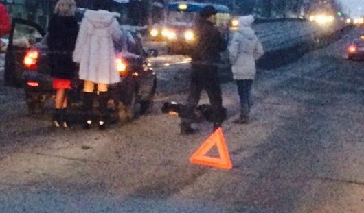 В Ижевске под колеса «Приоры» попал пешеход