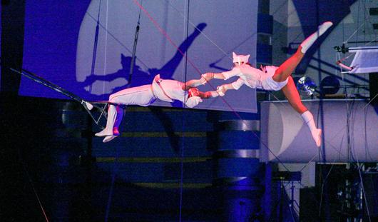 Гимнасты экстрим-группы «Герои» тренируются в Ижевске падать с 20-метровой высоты