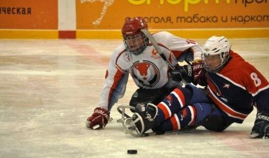 Следж-хоккеисты Удмуртии заняли третье место на втором этапе чемпионата России