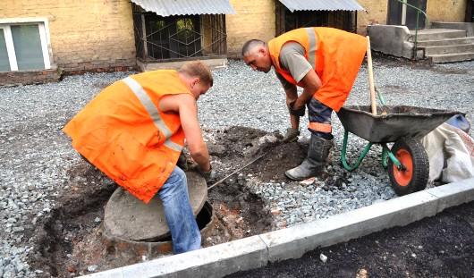 В Ижевске отремонтируют 67 дворов