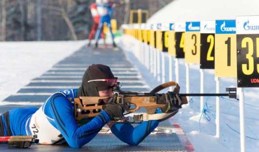Юношеская сборная Удмуртии по биатлону выиграла «серебро» на первенстве России