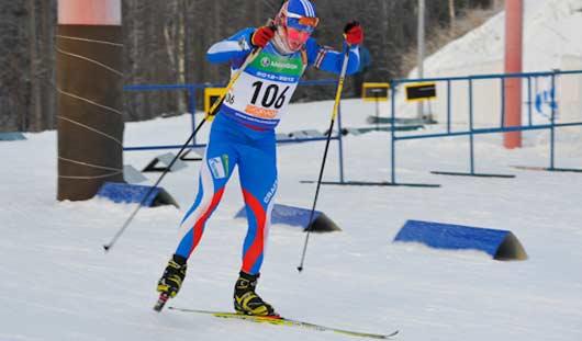 Юношеская сборная Удмуртии по биатлону завоевала серебро на первенстве России