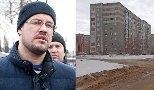 Денис Агашин  дал задание отремонтировать тротуары в Ленинском районе