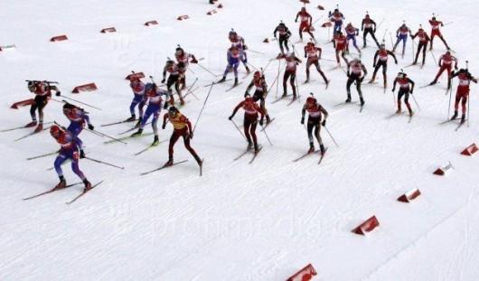 Юниорская сборная Удмуртии по биатлону стала шестой на первенстве России