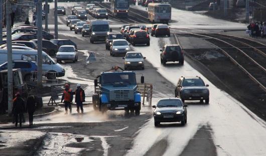 Движение по улице Авангардной в Ижевске открыли досрочно
