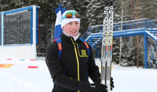 Биатлонист Виктор Плицев из Удмуртии стал вторым на первенстве России среди юниоров