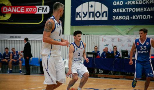 Баскетболисты ижевского БК «Купол-Родники» уступили на выезде со счетом 91:72