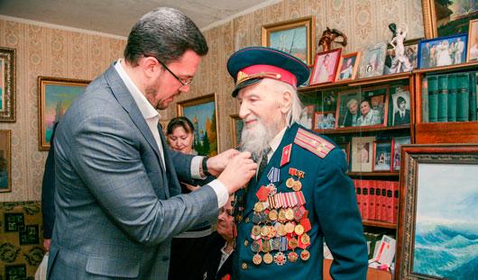Ветераны поделились с Денисом Агашиным своими проблемами и рассказали о своём прошлом