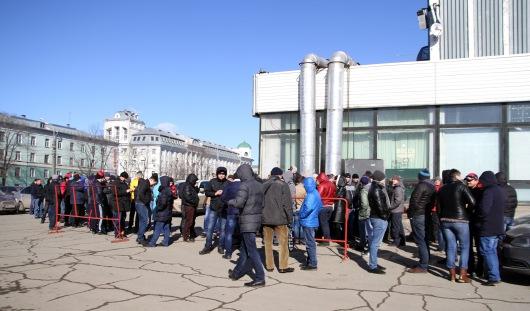 В Ижевске ажиотаж около касс Ледового дворца на матчи «Ижстали»