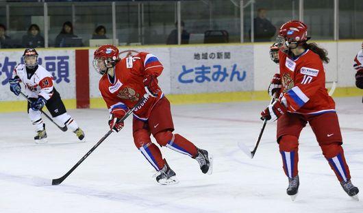 Российские хоккеистки уступили команде Финляндии на чемпионате мира