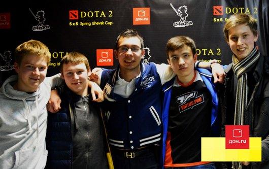 Отборочные игры турнира Dota 2 Izhevsk Spring Cup посмотрели более 3,5 тысяч человек