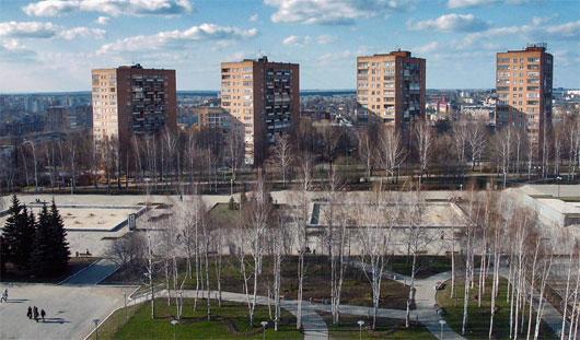 Администрация Ижевска утвердила размещение на Центральной площади аттракционов с 1 апреля