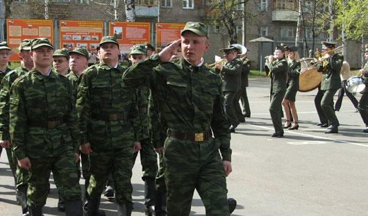 С 1 апреля в России начинается весенний призыв на военную службу