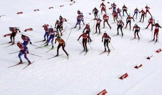 Биатлонисты из Удмуртии остались без медалей в заключительной гонке на чемпионате России