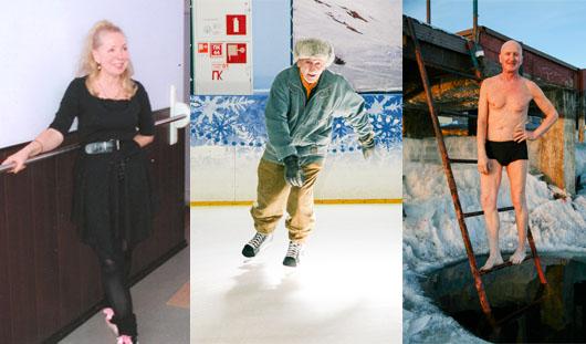 Ижевчане на пенсии занимаются балетом, моржеванием и катаются на коньках