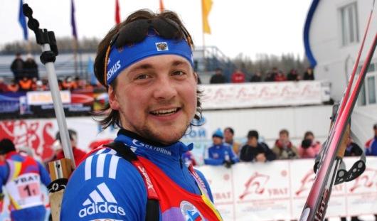 Удмуртский биатлонист Виктор Васильев стал вторым в борьбе за Кубок России