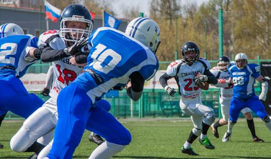 Команда по американскому футболу из Ижевска проиграла на выезде в Самаре