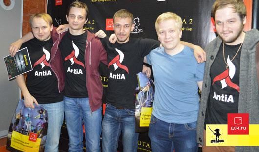 В Ижевске стали известны победители городского турнира по Dota2