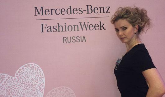Визажист Mercedes-Benz Fashion Week Russia из Ижевска: «Оксана Федорова в жизни красивее!»