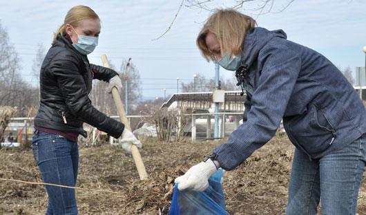18 апреля в Ижевске пройдет общегородской субботник