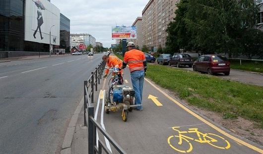 Отдельные полосы для велосипедистов в Ижевске не введут