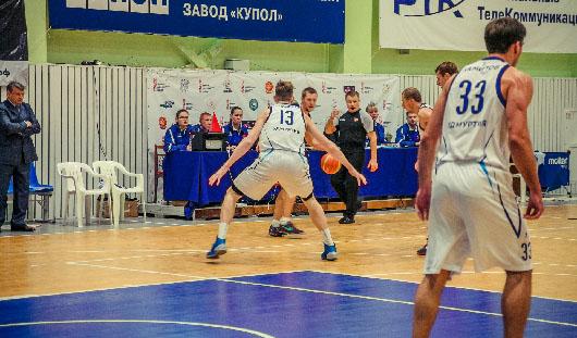Баскетбольный клуб из Ижевска «Купол-Родники» проиграл на выезде со счетом 54:71