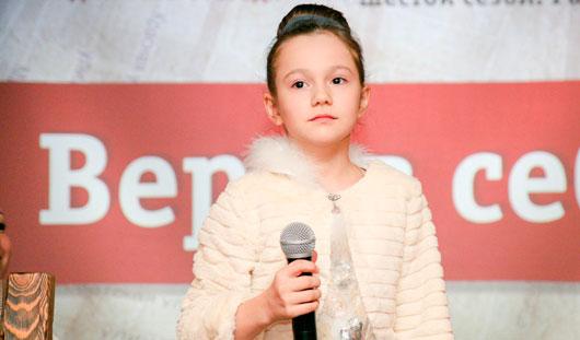 10-летняя Софья Черницына из Ижевска: Что такое война, я узнала из песни