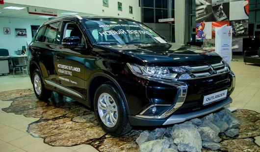 16 апреля в автосалоне «Гарант-Митсубиши» на ул. Карла Маркса, 55а состоялась презентация обновленного Mitsubishi Outlander
