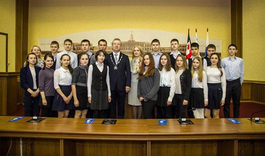 Глава Ижевска Александр Ушаков провел урок государственности, посвященный Дню местного самоуправления
