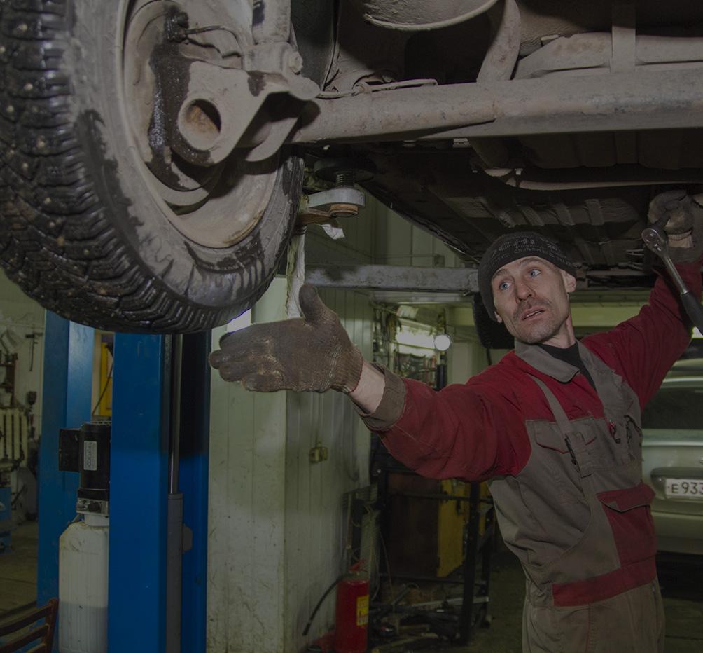 Моя работа: каждый день в гараже и зарплата в 40 тысяч