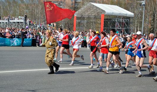 9 Мая на Центральной площади Ижевска в 66-й раз состоится легкоатлетическая «Эстафета мира»