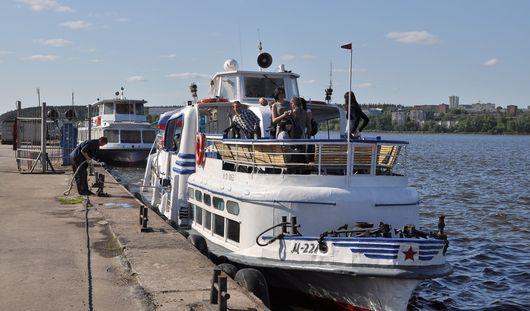Теплоходы Ижевск - Воложка - Ижевск начнут курсировать с 9 мая
