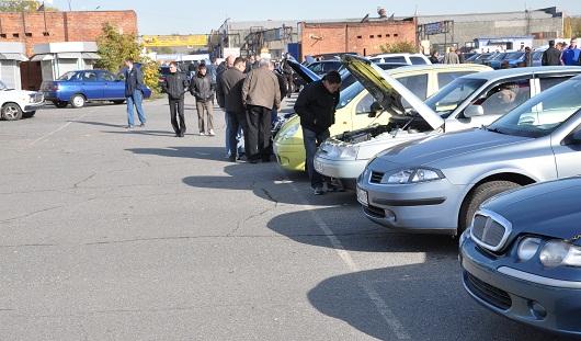 С января по март в Ижевске продали 3309 автомобилей