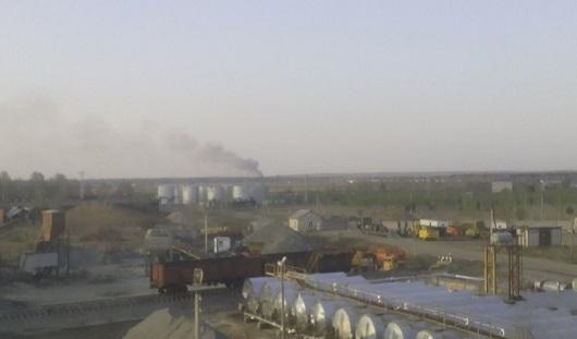 Пожарные Удмуртии дежурили в Пугачево всю ночь