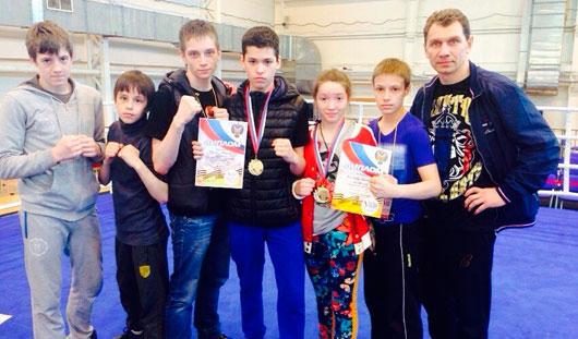 Удмуртские спортсмены стали чемпионами на первенстве России по тайскому боксу