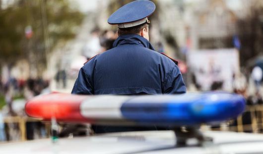 Из-за приезда Президента Абхазии на трассе Ижевск-Воткинск дежурят полицейские